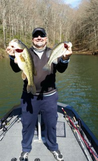 Delmus caught these bad boys from his new Ranger Aluminum!