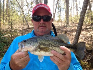Jeff Lowdermilk, Spot Bass caught on Lake Hickory